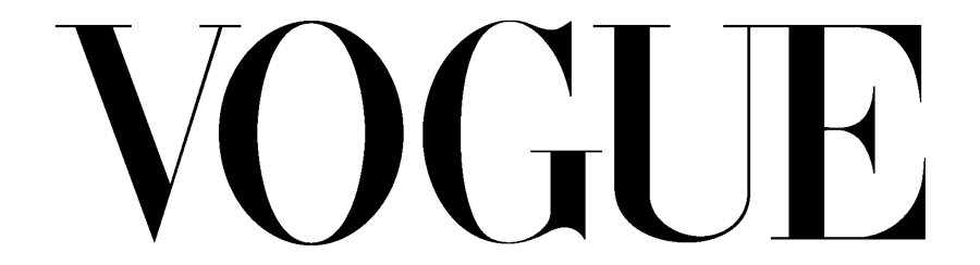 Vogue logo.