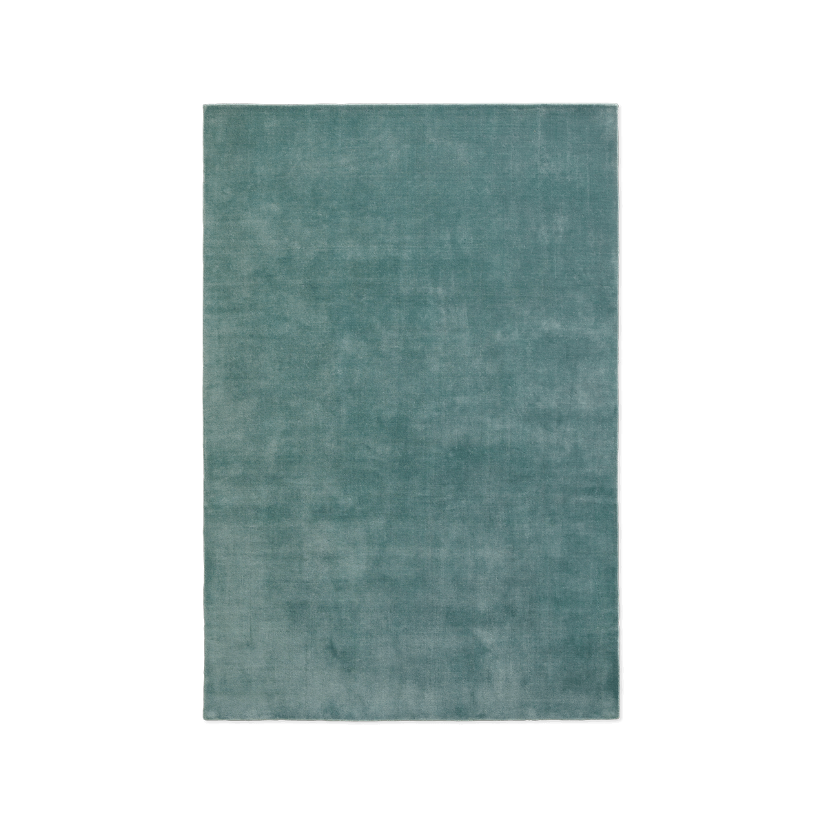 Product image of plush rug Grand in the color Pale Green.