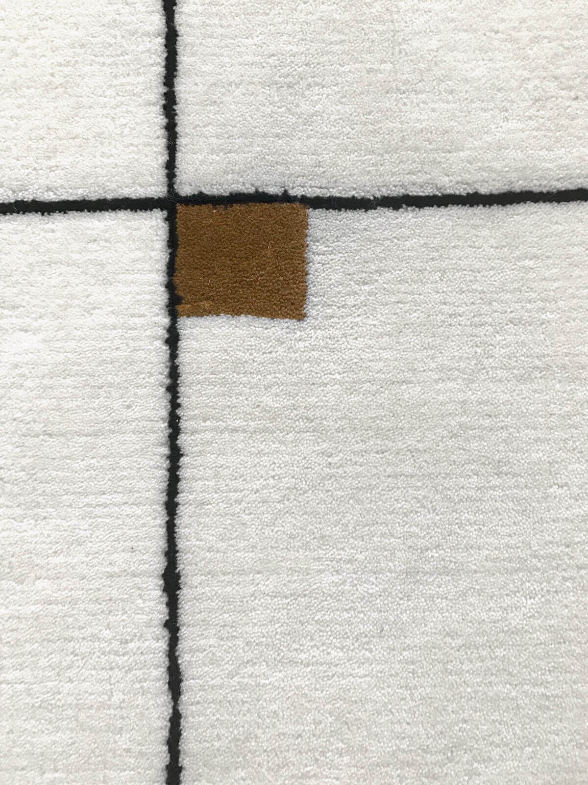 Close up of Modern in color Cream.