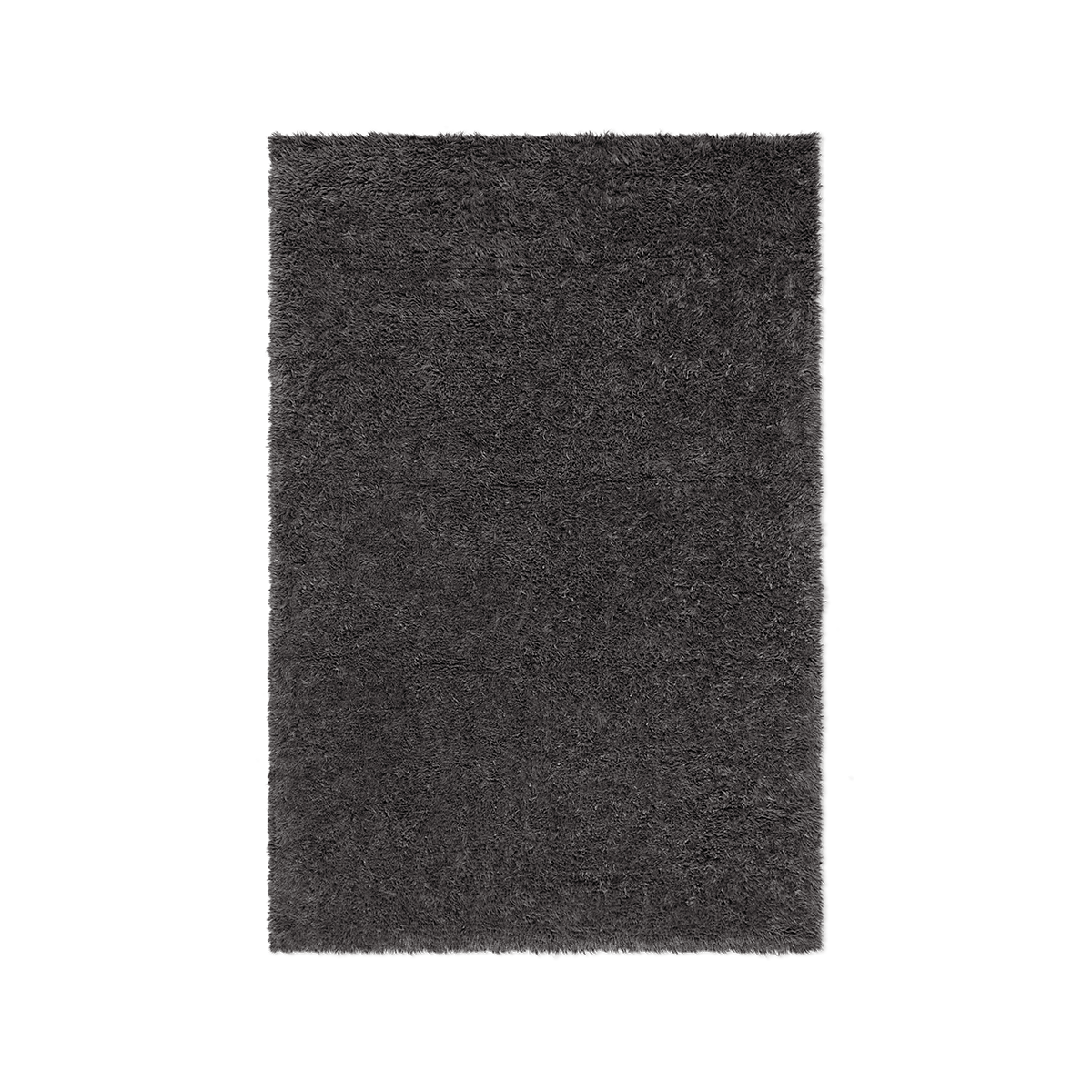 Product image of Fields wool rug in anthracite