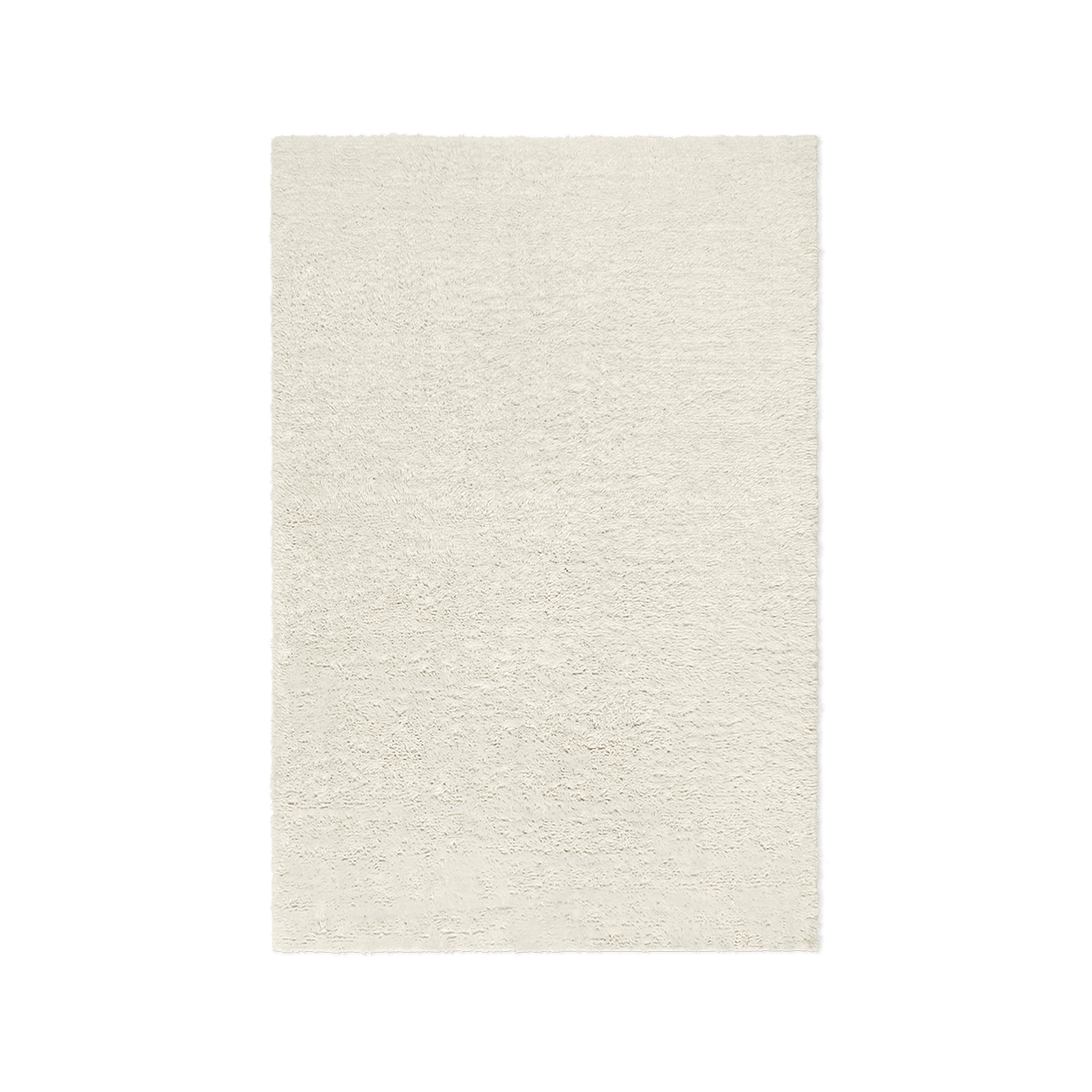 Product image of Fields wool rug in dusty white