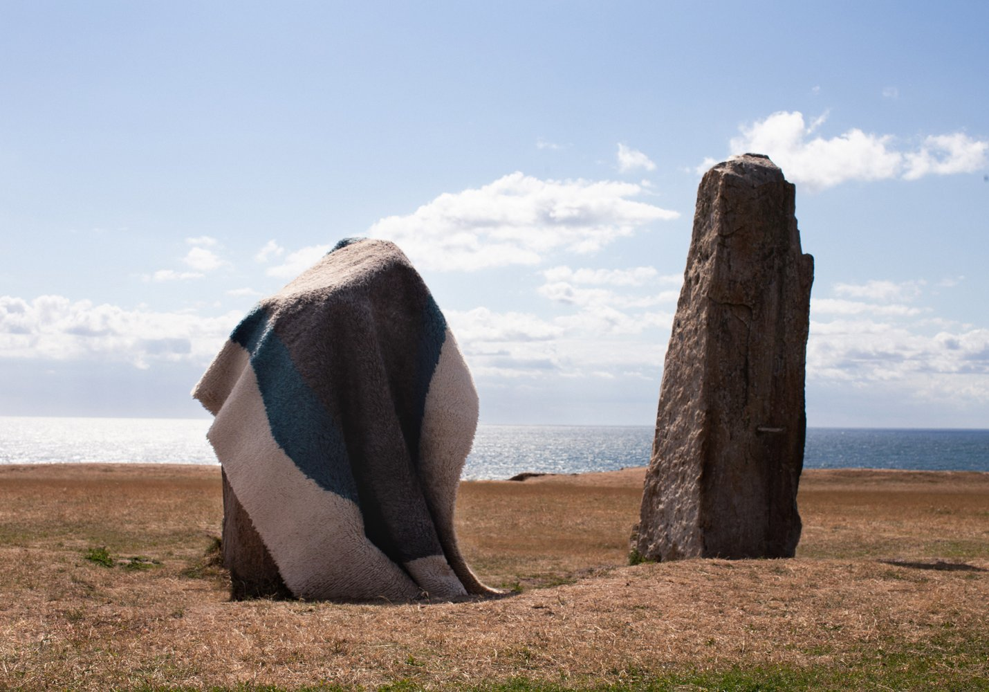 Monolith displayed on Ale stones in Skåne County, Sweden.