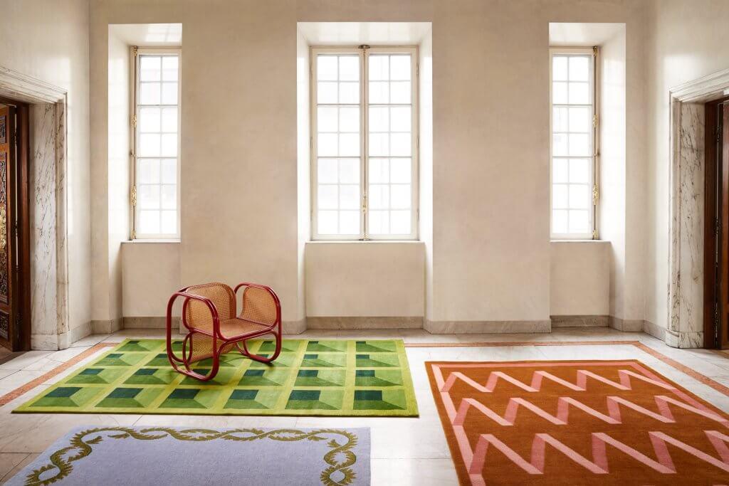 The Campbell-Rey rug collection at Van Der Nootska Palace