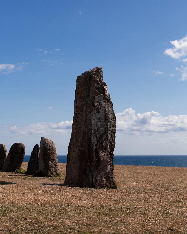 Image of Ale stones in Skåne County, Sweden.