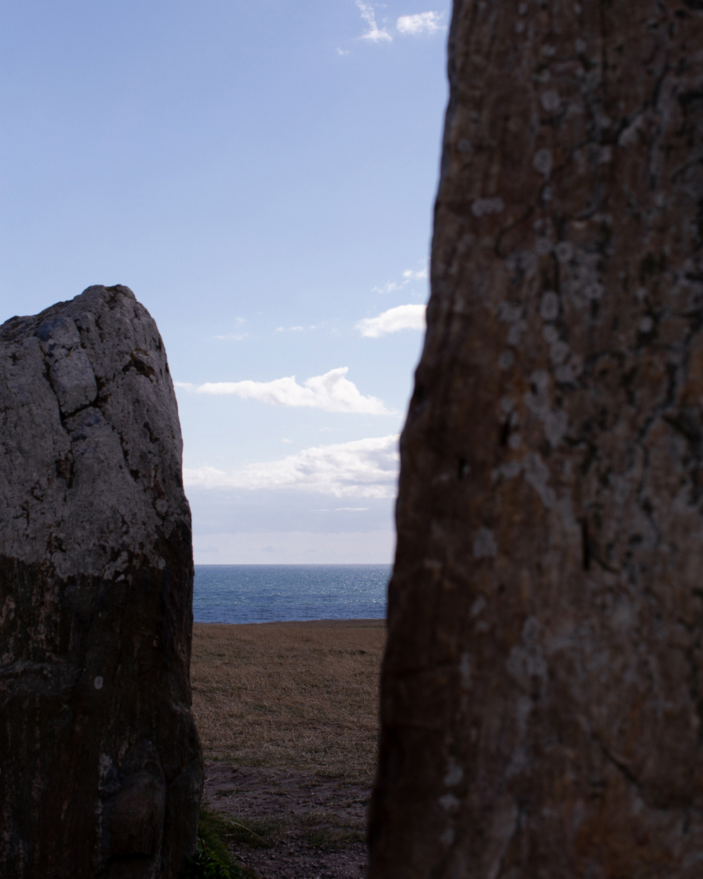 Image of the stone monument Ale stones.
